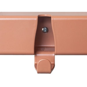 coatrack by the meter colour options ral3012 beige rood