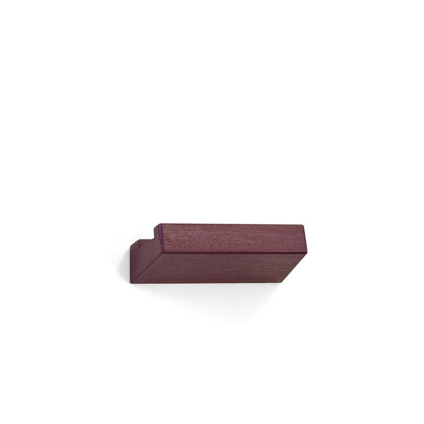 lookshelf shop 23 cm coloured wood bordeaux