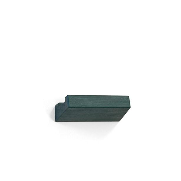 lookshelf shop 23 cm coloured wood green