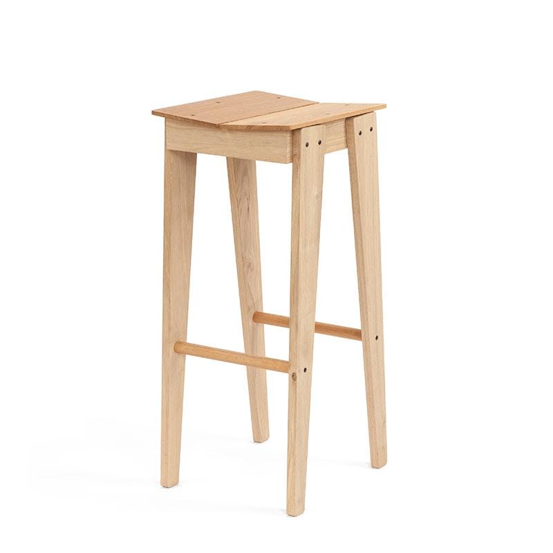 tilt bar stool persp front oak shop