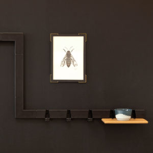 vij5 showroom black coatrack black wall 2017 image by vij5 shop