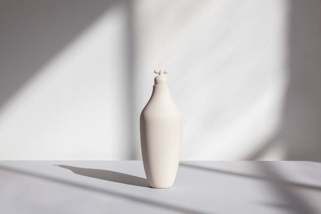 tap water carafe by lotte de raadt setting image by vij5 white 01