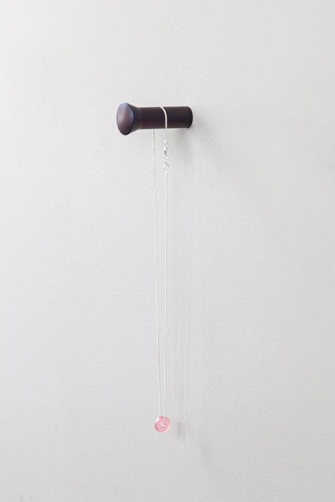 vij5 solid hook tempered steel dot rod necklace moederdag 2020 img 6502