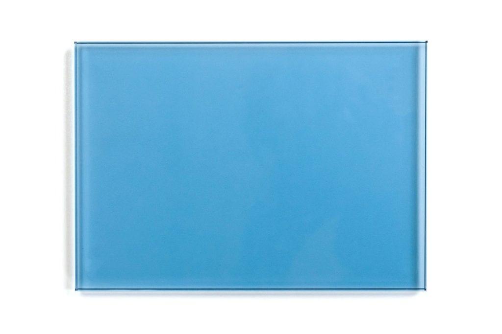 Dressed Cabinet glaspaneel sample blauw