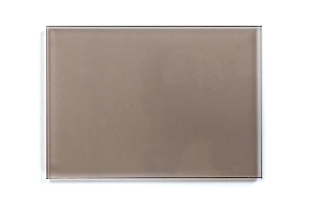 Dressed Cabinet glaspaneel sample brons