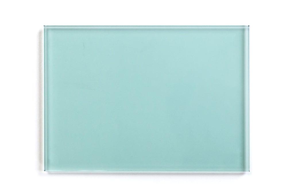 Dressed Cabinet glaspaneel sample groen