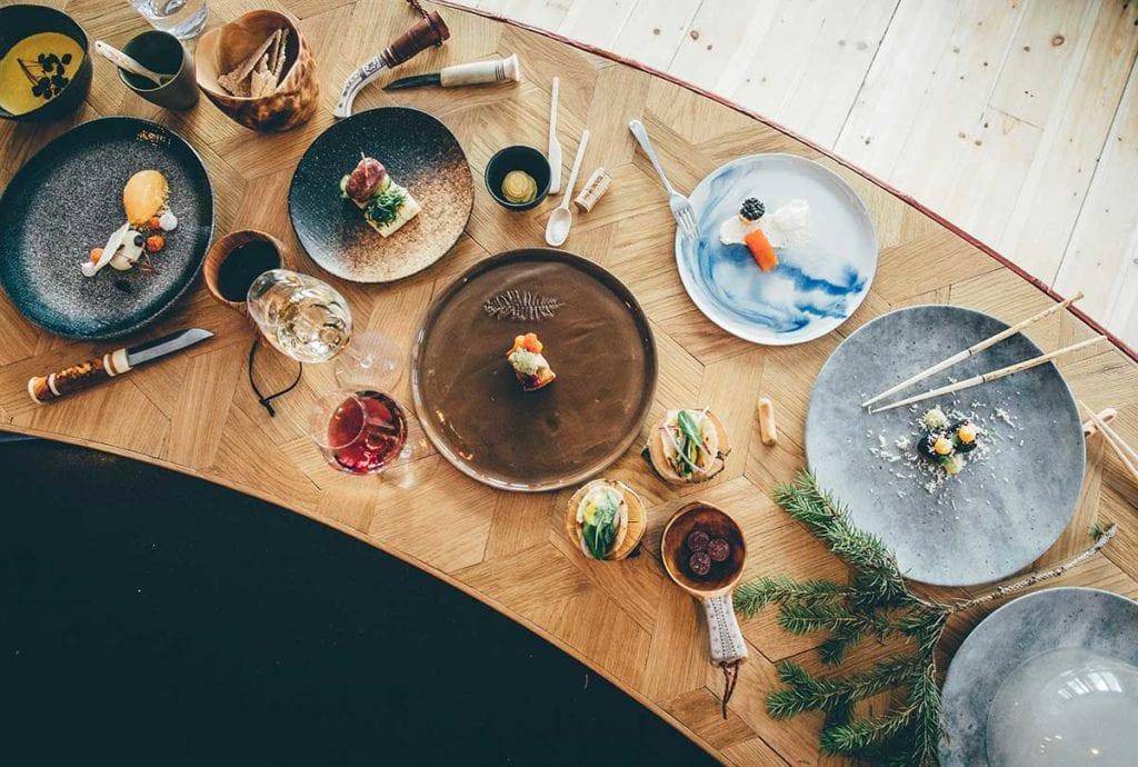 icehotel restaurant chefs table wordpress