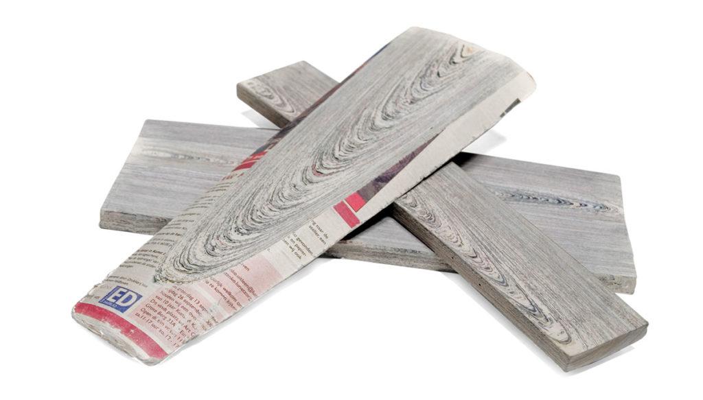 newspaperwood material 1
