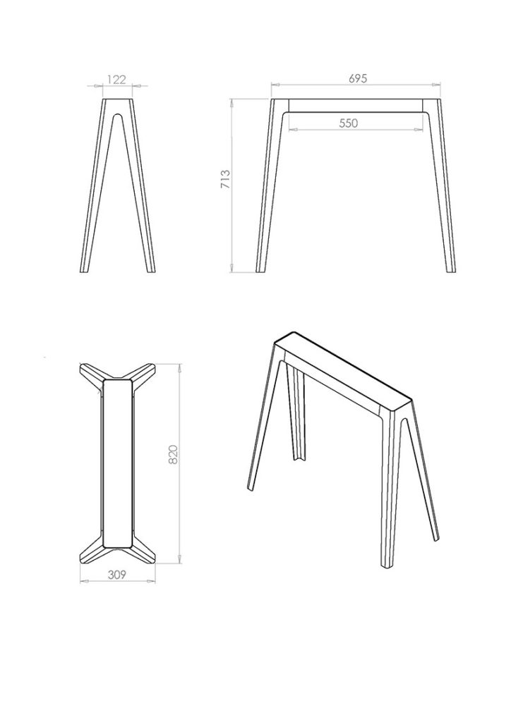 trestle rev 4 technical drawings for manufacture page 1 kopie