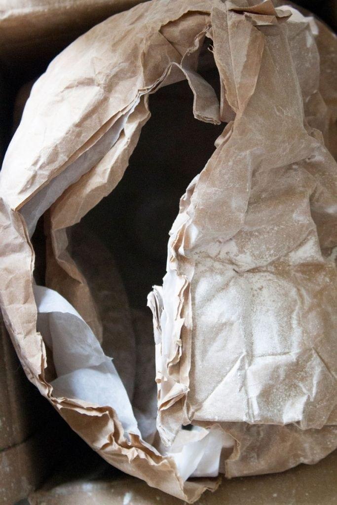 vij5 jute light by atelier lvdw plasterbag image by atelier lvdw